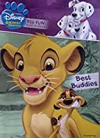Disney Animal Friends - Big Fun Book to Color - Best Buddies