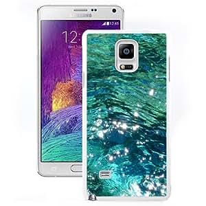 Fashionable Custom Designed Samsung Galaxy Note 4 N910A N910T N910P N910V N910R4 Phone Case With Ocean Water_White Phone Case