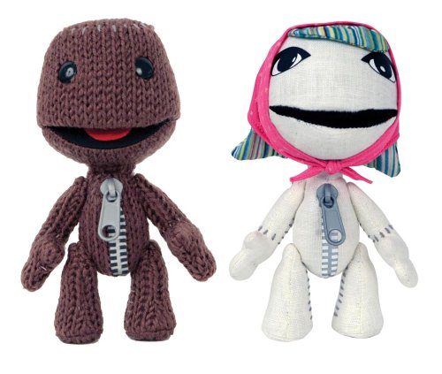"LittleBigPlanet Sackgirl/Sackboy 6"" Plush - 2 Pack for sale  Delivered anywhere in USA"