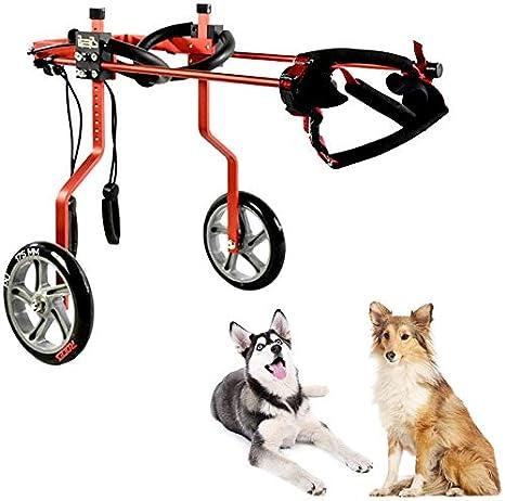 XQSSB Perros Andador en Silla de Ruedas Compañero de Perro Trolley ...