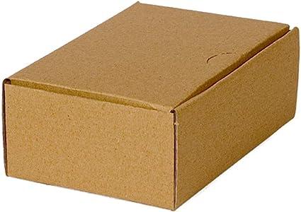 100 Caja Plegable 160 x 110 x 60mm, embalaje ENVÍO Caja de cartón ...