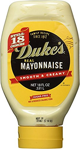 Duke's Real Mayonnaise 18oz (4 Pack) by Duke's Real