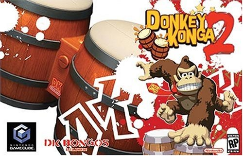 Donkey Kong Drum (Donkey Konga 2 with Bongos - Gamecube)