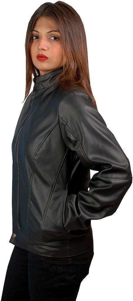 Woman Gal Gadot Real Leather Black Jacket