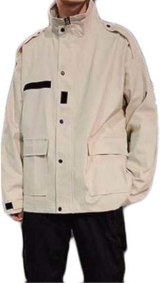 [フ二ンー] ジャケット メンズ 秋冬 ブルゾン 防寒 コート モッズジャケット トップス カジュアル おしゃれ ゆったり 大きいサイズ