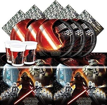 CAPRILO. Lote de Cubiertos Infantiles Desechables Star Wars ...