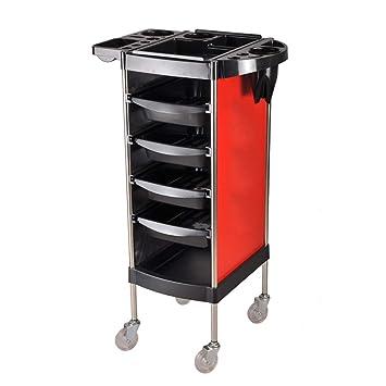Beauty Storage Trolley Carros De Mantenimiento Carrito Multiusos De La Herramienta De La Rueda De La