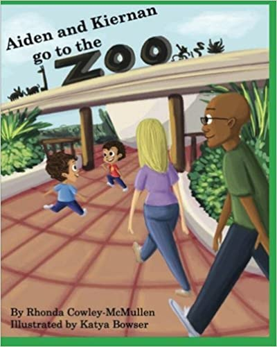 Book Aiden & Kiernan Go To The Zoo by Rhonda Cowley-McMullen (2013-01-29)