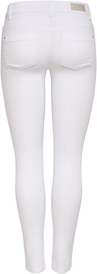 ONLY Damen Skinny Jeans ULTIMATE REGULAR SOFT WHITE NOOS