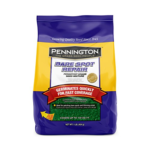 Pennington 100085410 Bare Spot Repair Grass Seed, 1 lb.