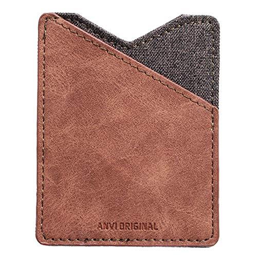 fa45eb6b4f71 Minix RFID Blocking Front Pocket Minimalist Slim Wallet for Men and Women  (Light brown-MINIX)