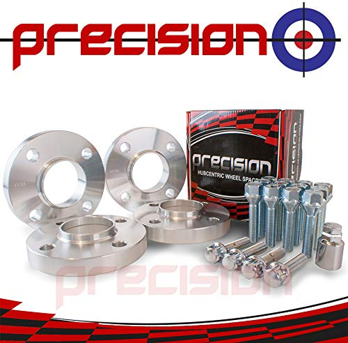 Wheel Spacers 2pr 20mm with Bolts and Locking Bolts for Ṿauxhall Crossland X Precision