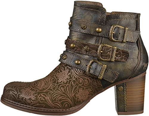 Booties Mustang Womens 1286 Oliv 504 ww7BWtFqUr