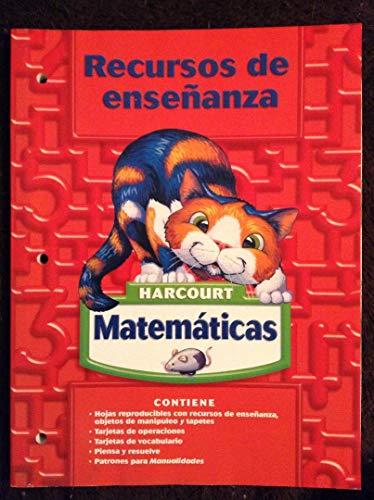 (Harcourt School Publishers Matematicas: Tchr Res Bk Gr2 (Harcourt Matematicas) (Spanish Edition))