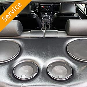Car Component Speaker Install - Front and Rear - In-Store