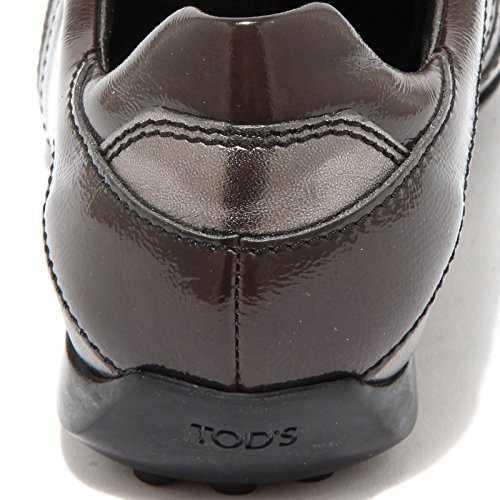 On New Shoes Donna Scarpa Sneaker Women bronzo Tod's Marrone Laced 68160 6q7xntBwn