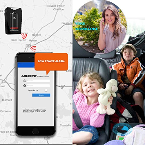 GPS Tracker for Vehicles,ABLEGRID GT001 Real Time Magnetic Small GPS Tracking Device Locator for Car Motorcycle Truck Kids Teens Old Free SIM Card Life Time Warranty