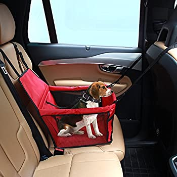 Amazon.com : Pet Car Seat cover Carrier Airline Approved For Dogs ...