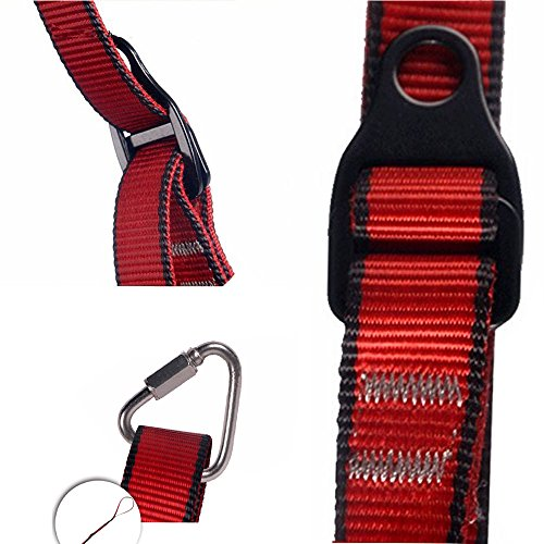 Flowersea998 Foot Loop Climbing, Adjustable Foot Ascender Sling Belts