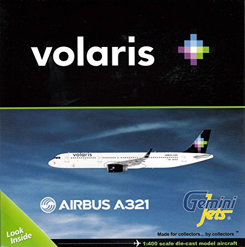 Gemgj1489 1 400 Gemini Jets Volaris Airbus A321 With Sharklets Reg  Xa Vlh  Pre Painted Pre Built