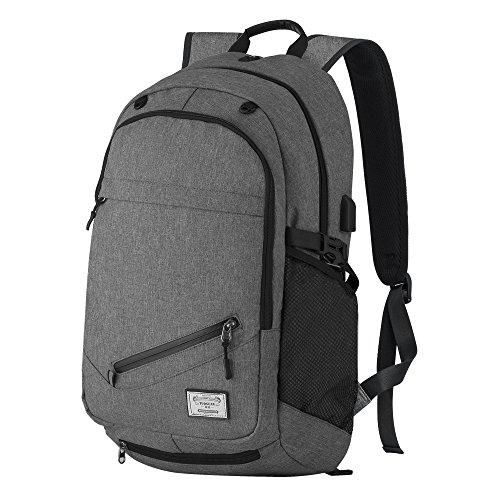 Water Resistant Laptop Backpack, P.KU.VDSL 15.6