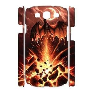 Diy Red Dragon Phone Case for samsung galaxy s3 3D Shell Phone JFLIFE(TM) [Pattern-2] Kimberly Kurzendoerfer