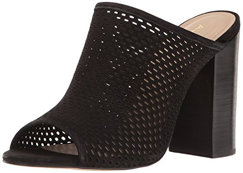Image of ALDO Women's Thiasa Mule, Black Nubuck, 7.5 B US