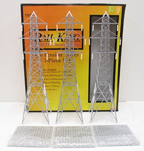 MTH O High Tension Tower Set (3) ()