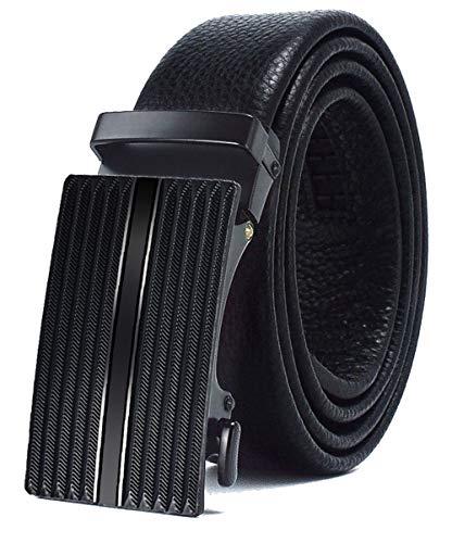 [해외]Men`s BeltGenuine Leather Ratchet Dress Belt with Automatic Click BuckleGift Box / Men`s Belt,Genuine Leather Ratchet Dress Belt with Automatic Click Buckle,Gift Box