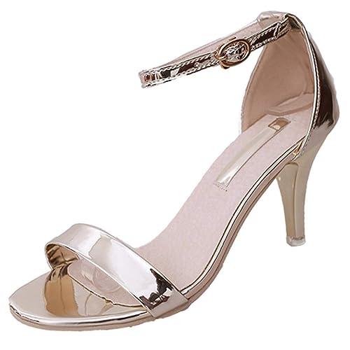 designer fashion 0d576 813ea Scarpe con Tacco da Donna Décolleté Open Toe per Cerimonia ...