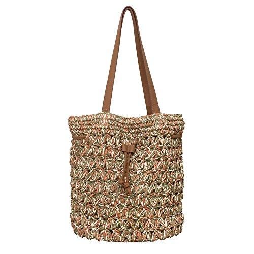 Crochet Drawstring Bag - 4