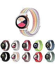 Pulseira Nylon Loop para Samsung Galaxy Watch Active 40mm e 44mm - Galaxy Watch 42mm BT - Gear S2 Classic - Gear Sport R600 - Amazfit Bip - Amazfit Gtr 42mm - Marca Ltimports