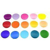 Godox V-11C Filtros de color, juego de 30 Accesorios de Filtro de Color para Godox AK-R1, Godox S-R1 Flash, Godox V1…