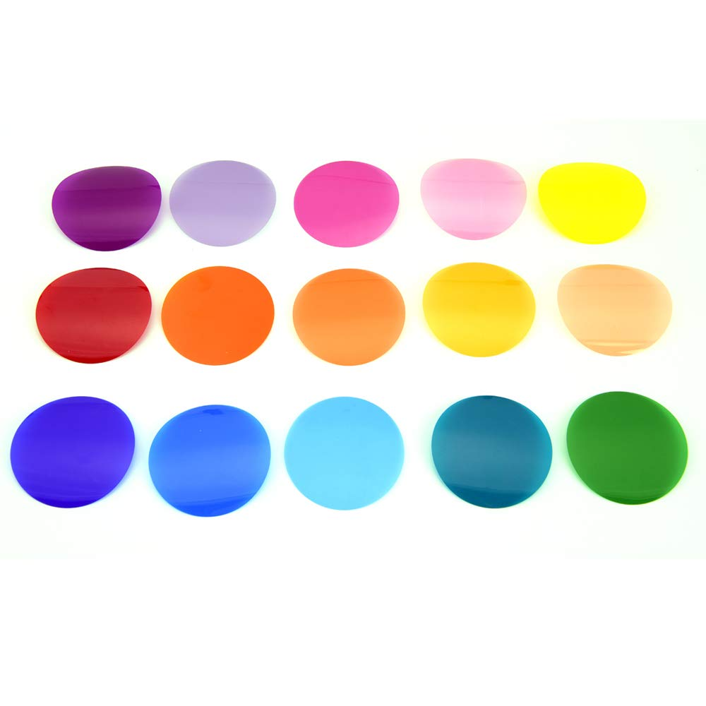 Godox V-11C 15x2 30pcs Color Effects Set Color Gels for Godox AK-R1, H200R, Godox V1-C, V1-N, V1-S, V1-F, V1-O by Godox