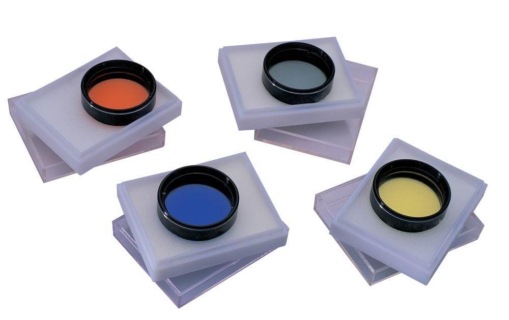 Set di 4 Filtri colorati per telescopio 31, 7mm 1, 25' - I più importanti!!! 25 - I più importanti!!! Seben tls_acc_farbfilter