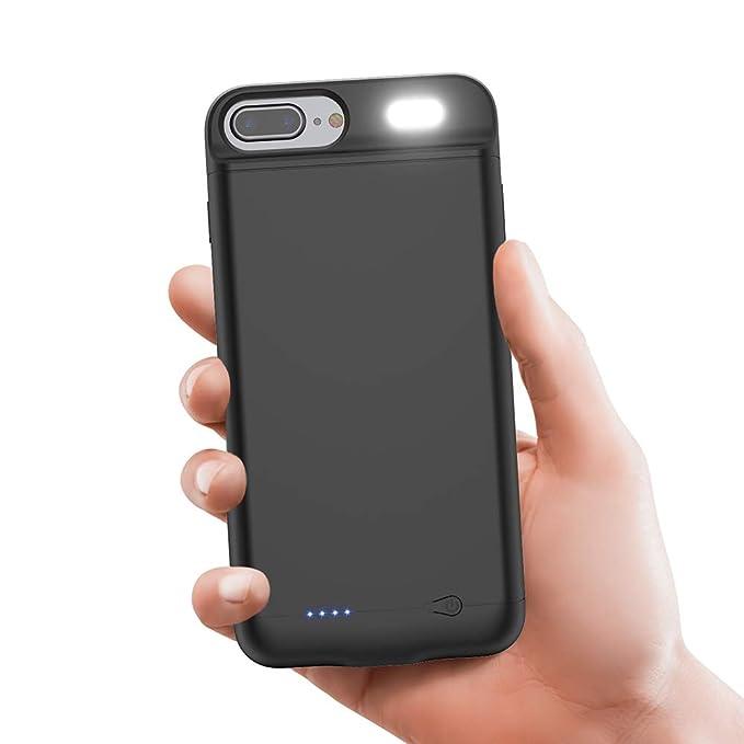 Vancely Funda Batería para iPhone 8 Plus/7 Plus/6S Plus/6 ...