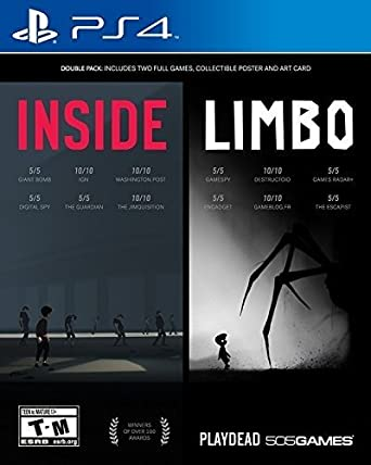 inside limbo double pack playstation 4 playstation 4 computer