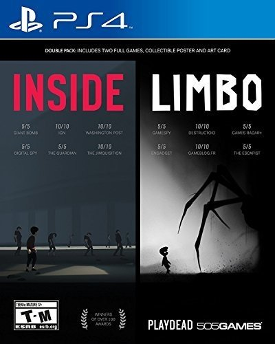 INSIDE / LIMBO Double Pack - PlayStation 4 (Best Myst Like Games)