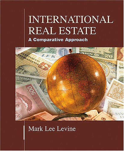 International Real Estate: A Comparative Approach