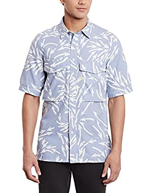 Men's Type C Straight Shirt Short Sleeve Monta Bw Arrow Ao