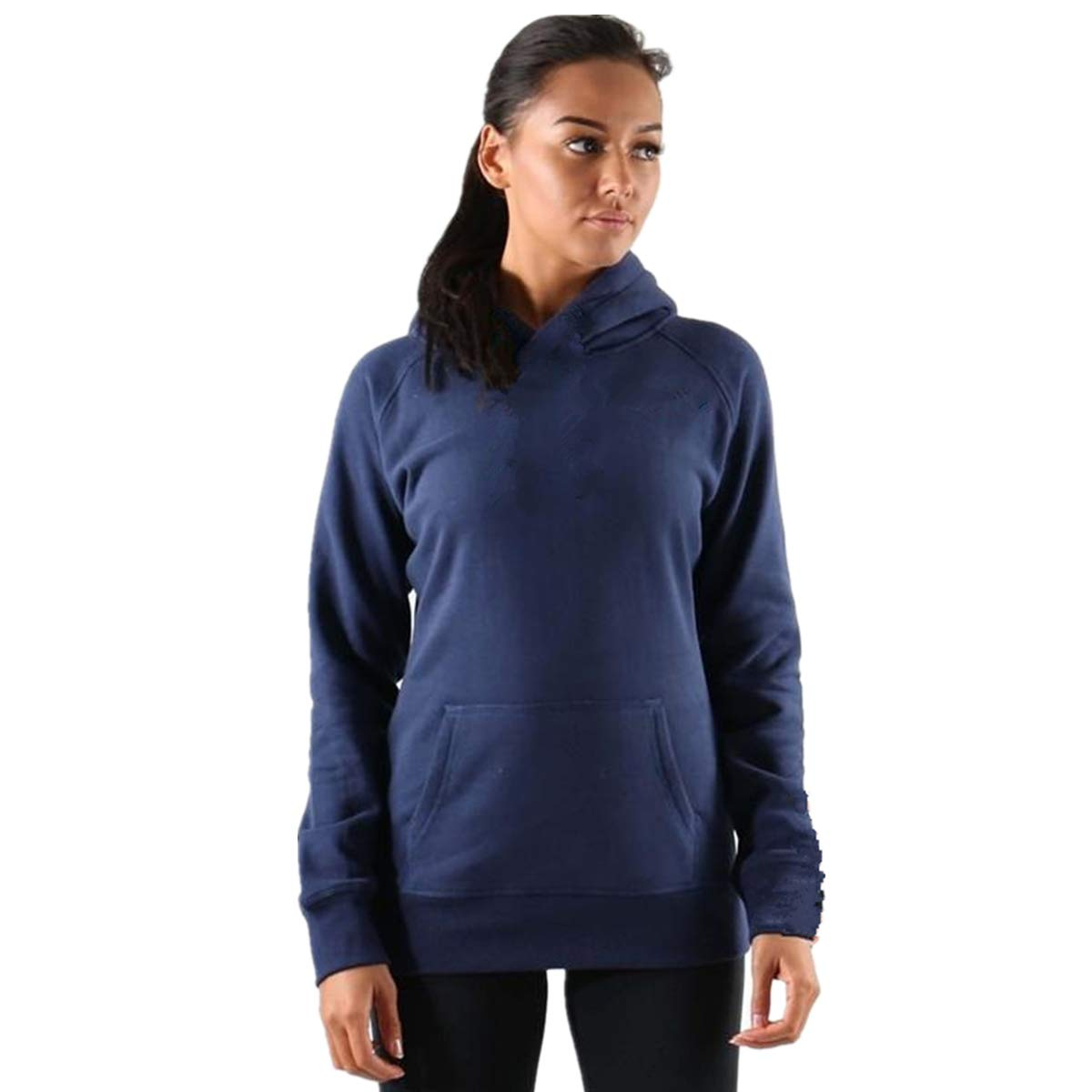 Muscle Killer Womens Basic Thin Cotton Pullover Hoodie Sweater Sports Workout with Pocket