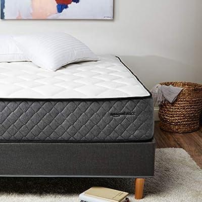 AmazonBasics Premium Hybrid Mattress - Plush Memory Foam Feel with Strong Innerspring Support