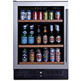 NFINITY PRO S Beverage Center Left Hinge - Stainless Steel Door