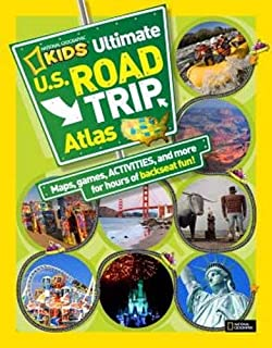 National Geographic Kids United States Atlas National Geographic - Us atlas road map
