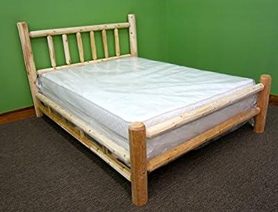 Midwest Log Furniture - Premium Log Bed - Twin