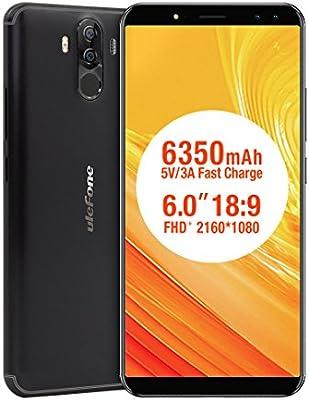 6350mAh cuádruple cámara Smartphone, Potencia 3S Octa-Core ...