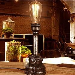 DMMSS Pipe Lamp/Distinctive Creative Table Lamp/Retro Bar Pipe Lamp