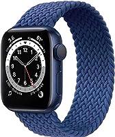 Fengyiyuda Nylon Geflochtenes Solo Loop Kompatibel mit Apple Watch Armband,Sport Elastic Band für Iwatch Series...