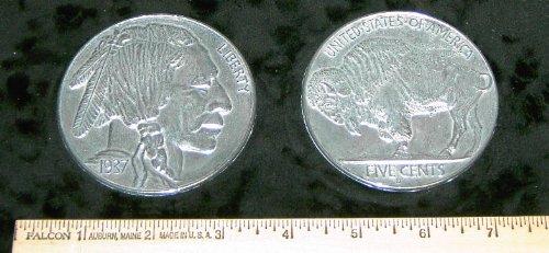 3 Buffalo Coins - 6