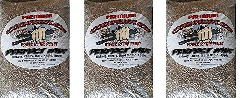 CookinPellets 40PM Perfect Mix Smoking Pellets (3-(Pack))